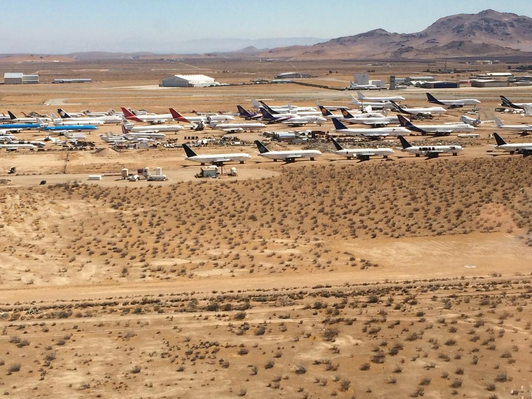 Where Planes go to Sleep. Mojave, CA
