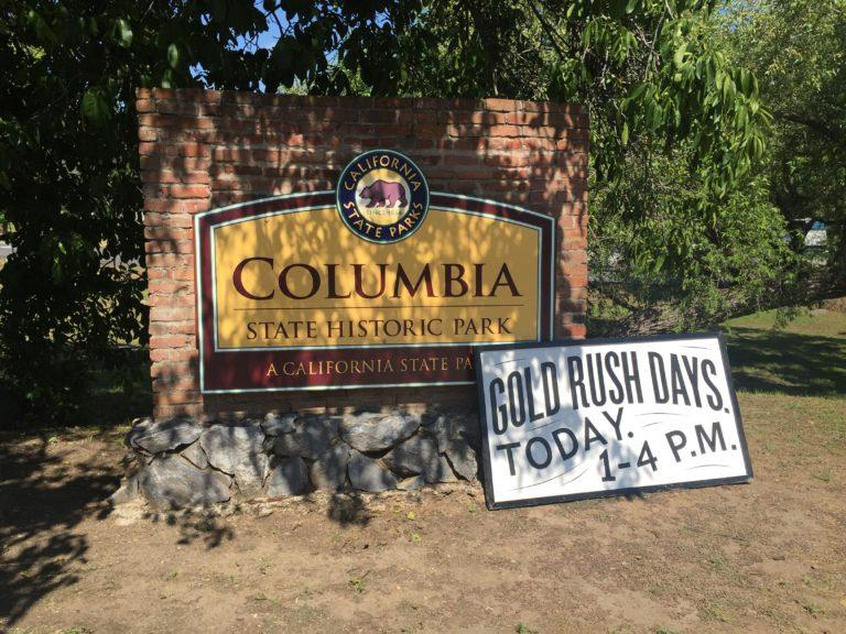 The gold rush town. Columbia, CA