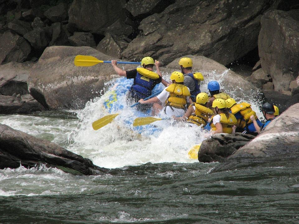White Water Rafting. Auburn, CA
