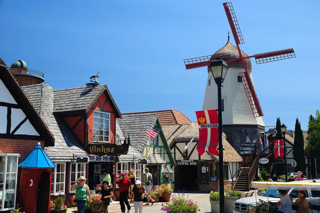 Solvang, Little Denmark in SoCal. Santa Ynez, CA