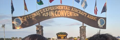 California to EAA AirVenture, Oshkosh, WI