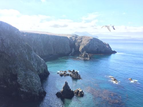 Anacapa, One of the Channel Islands. Oxnard, CA