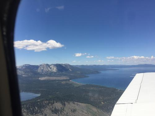 Lake Tahoe, Skiing or Swimming.