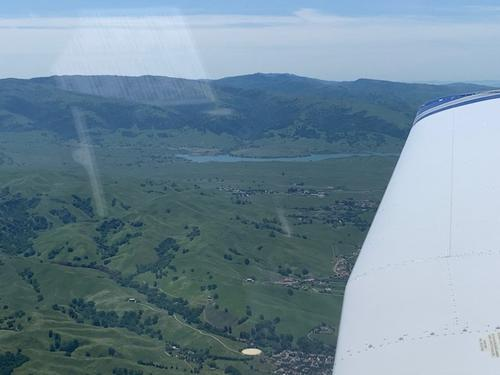 Distance Flying in California.